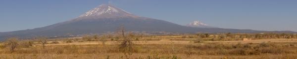 Potężne wulkany: Popocatepetl i Ixtacihuatl
